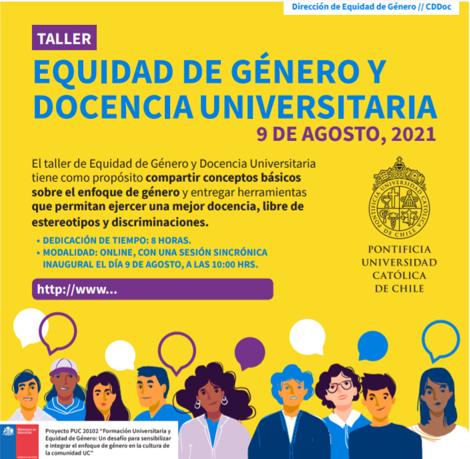 Curso Equidad de Género y Docencia Universitaria
